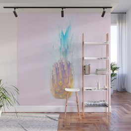 Pink Pineapple Power! Wall Mural