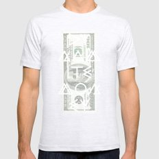 DYNAMITE MONEY Mens Fitted Tee SMALL Ash Grey