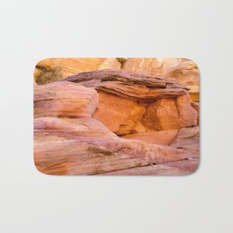 Colorful Sandstone, Valley of Fire State Park Bath Mat
