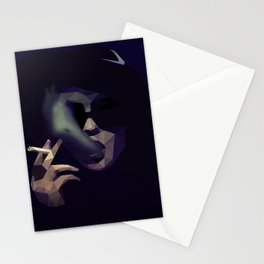 Low Poly Marla Singer Stationery Cards