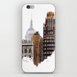 Empire State and Radiator Buildings iPhone Skin