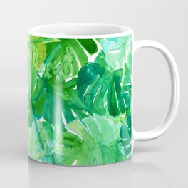 Welcome to the Jungle Palm Coffee Mug
