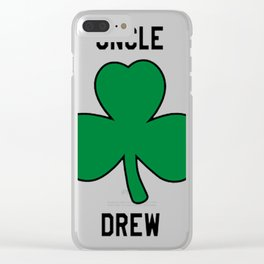 Uncle Drew Kyrie boston basketball Clear iPhone Case