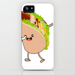 Dabbing Taco Cinco de Mayo Mexican iPhone Case