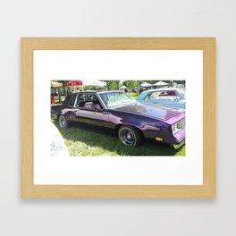 purple low-low Framed Art Print