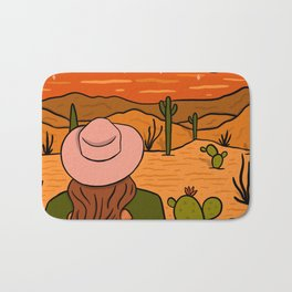 Desert Girl Bath Mat