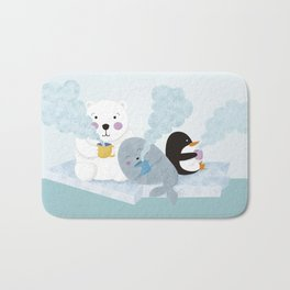 polar coffe Bath Mat
