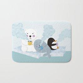 polar coffe Bath Mat