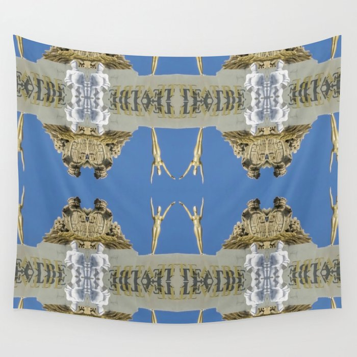 Salvador Dali Tribute  Wall Tapestry