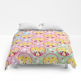Usagi Tsukino VS Sailor Moon pattern Comforters