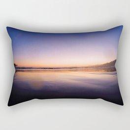 Ocean Sunset #3 Rectangular Pillow