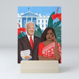 Uncle Joe & Kamala Harris Mini Art Print