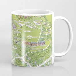 DENISON University map GRANVILLE OHIO Coffee Mug