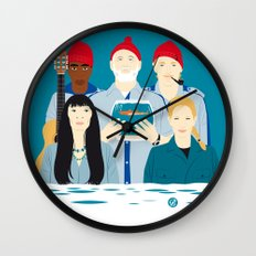 Steve's trophy (Faces & Movies) Wall Clock