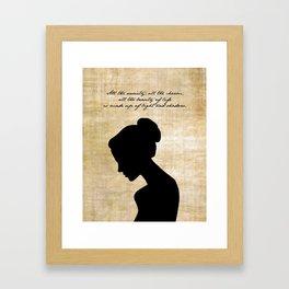 Anna Karenina - Leo Tolstoy Framed Art Print