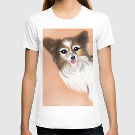 James Blonde - a Cannes celebrity papillon dog T-shirt