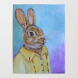 Hey Bunny Poster