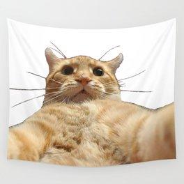 Cat Selfie Wall Tapestry