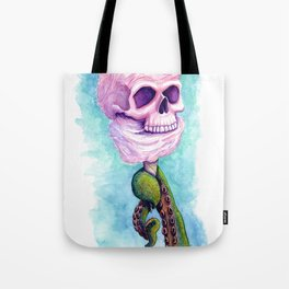 Cotton Candy Cthulhu Tote Bag
