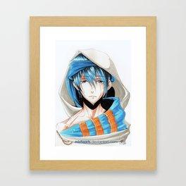 Free! Iwatobi Swim Club Haruka Framed Art Print