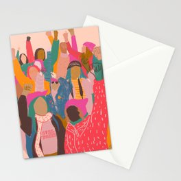 Womens march Stationery Cards