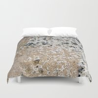 concrete Duvet Covers featuring Concrete by Herzensdinge
