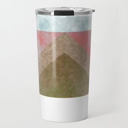 MOON BEHIND THE MOUNTAINS Travel Mug