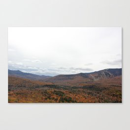 Autumn in Waterville Valley, NH Canvas Print