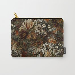 Night Garden Gold Carry-All Pouch