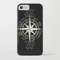 tolkien iPhone & iPod Cases featuring Not all those who wander are lost - J.R.R Tolkien by Augustinet
