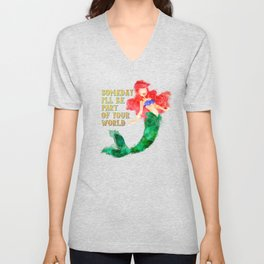 Part of Your World Unisex V-Neck