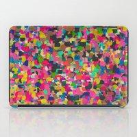 rush iPad Cases featuring City Rush by Georgiana Paraschiv