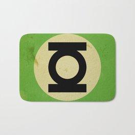 Green Lantern (Super Minimalist series) Bath Mat