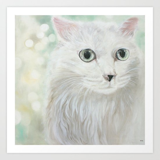 Monday Cat Art Print