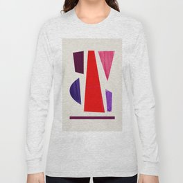 Pieces abstract Long Sleeve T-shirt