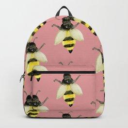 Honeybees on Millennial Pink Backpack