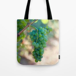Sauvignon Blanc Grapes on the Vine Tote Bag