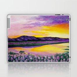 Purple Sunset Laptop & iPad Skin