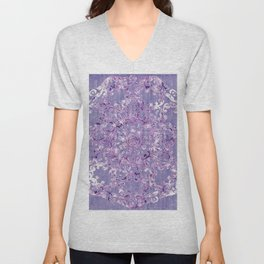 A Taste of Lilac Wine Unisex V-Neck
