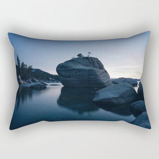 Rocks Landscape Boulder Rectangular Pillow