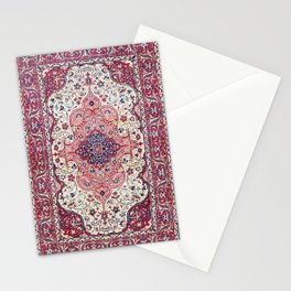 Bakhtiari West Central Persian Rug Print Stationery Cards