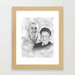 S.E. & Hazel Framed Art Print
