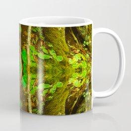 Dark Green Divine Forest Coffee Mug