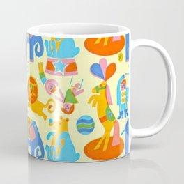 CIRCUS PATTERN ACROBAT Coffee Mug