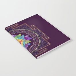 Rainbow Sri Yantra Notebook