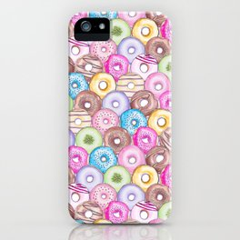 Donut Invasion iPhone Case