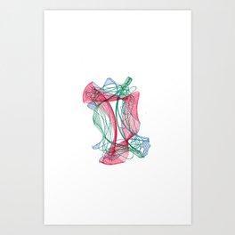 Spatial Relations Pt.1 Art Print