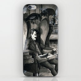 The Raven (version2) iPhone Skin