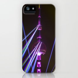 Pearl Tower Shanghai iPhone Case