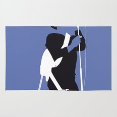 No068 MY LOU REED Minimal Music poster Rug